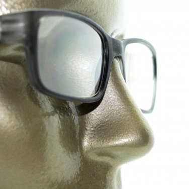 Reading Glasses Modernist Frosted Simple Tech Spring Hinge Frosted Gray +2.25