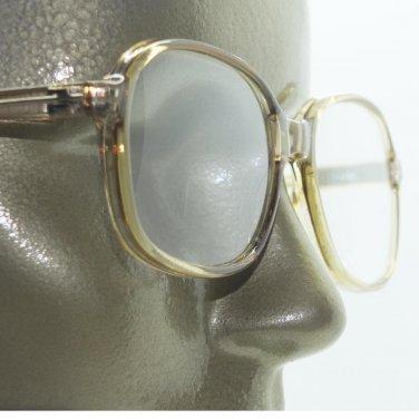 Simple Office Reading Glasses No Fuss Acrylic Light Gray Frame +2.50 Lens Power