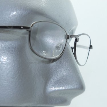 Reading Glasses +1.50 Simple No-Fuss Black Metal Frame Readers
