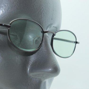 Reading Glasses Rock Star Sea Green Tinted Lenses Metal Mini Frame +3.25 Lens