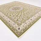 excellent nain  green rug sale carpet  9x12 clearance nice