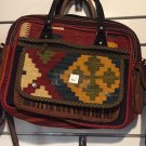 Laptop Bag Women Hand Made Wool Woven Natural Color Nomad Persian Kilim