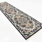 navy art rug sale clearance rug  3x13 runner  rug  deal  liquidation sale