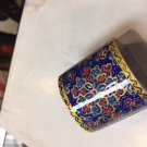 TRINKET BOX GIFT  SALE CLEARANCE GOLD JEWELRY BOX HANDICRAFT DECORATIVE