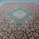 TOPEST QUALITY EVER Persian silk carpet/rug qom handmade 100% pure silk 800kpsi