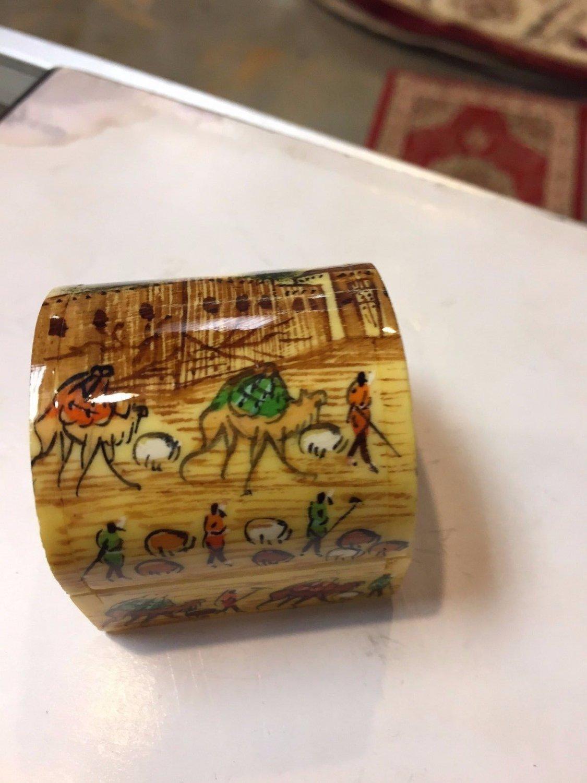TRINKET BOX GIFT ART DEAL SALE CLEARANCE GOLD JEWELRY BOX HANDICRAFT DECORATIVE