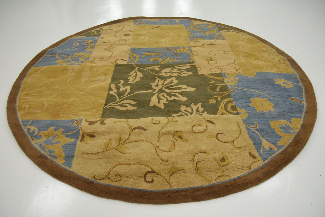 clearance liquidation rug round circle superb quality perfect deal sale