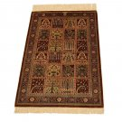 bakhtiar design Persian silk carpet/rug qom handmade 100% pure silk 600/kpsi