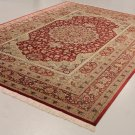 SUPERB NO 1 ART FEAT Persian silk carpet/rug qom handmade 100% pure silk 625kpsi