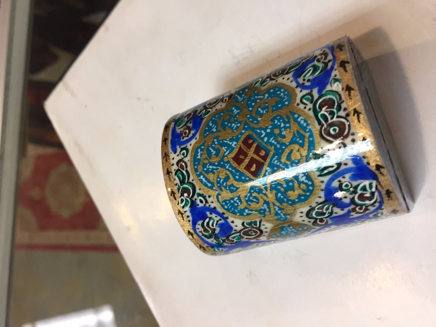 superb nice box hand paint hand made gift decorative collectible master made art