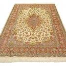 GHOM safavi design Persian silk carpet/rug qom handmade 100% pure silk 600/kpsi