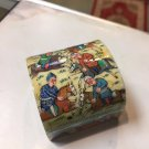 trinket art box hand paint hand made gift decorative collectible master made art