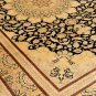 Art Feat MUSEUM  Persian silk carpet/rug qom handmade 100% pure silk 600kpsi