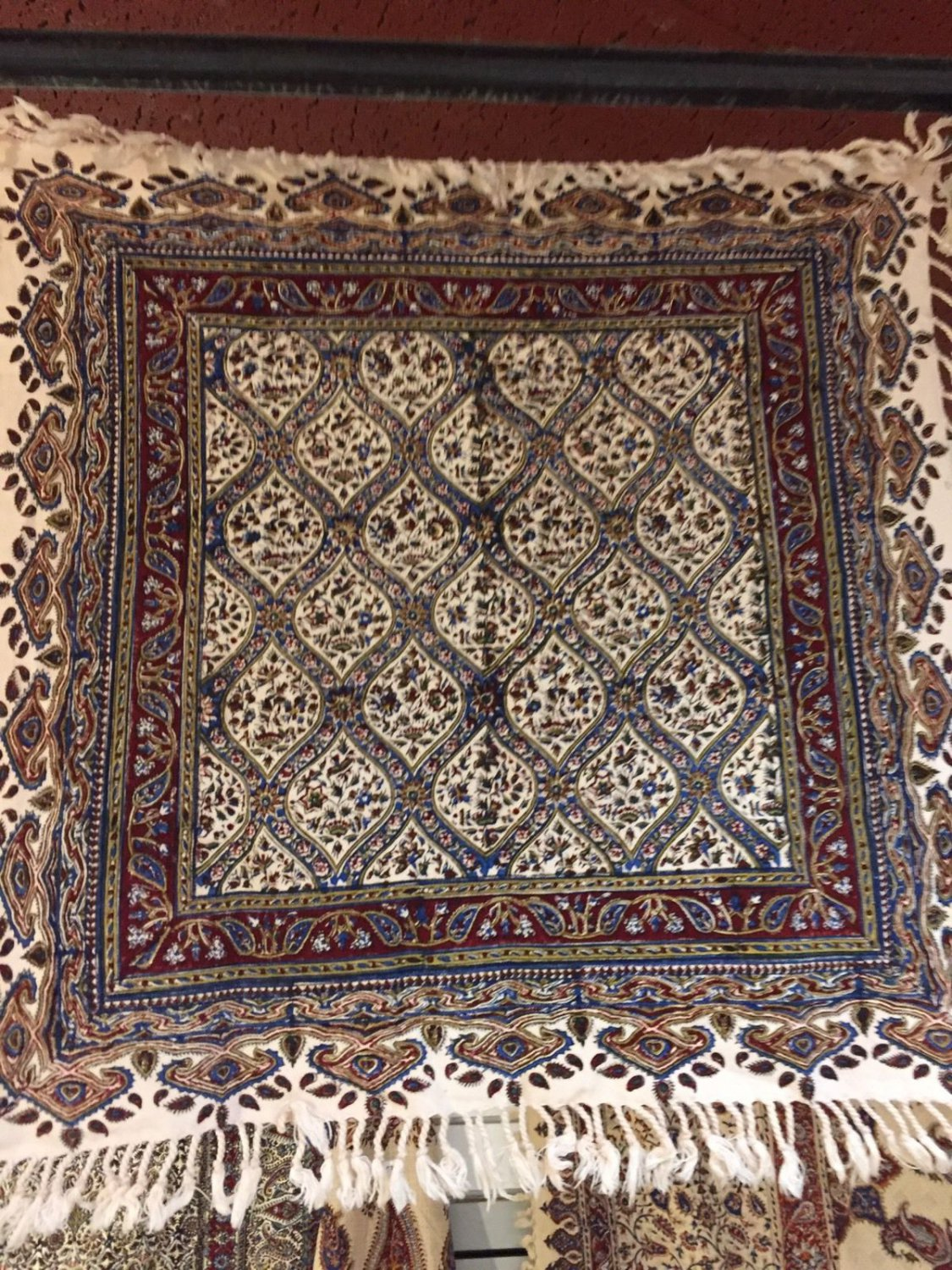 Calico Wall Hanging Cotton Hand Made Home Decorpersian Art Natural