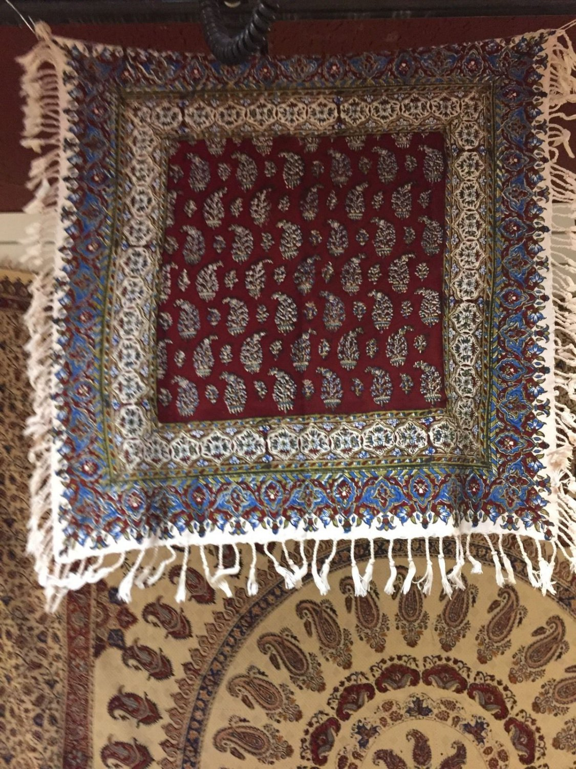 Tapestry Wall Hang Cotton Hand Made Home Decorpersian Art Natural