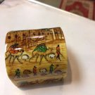 nice jewel box hand paint hand made gift decorative collectible master made art