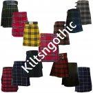 New Multi Stylish Tartan Kilts Made For Active Men