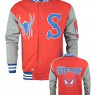 New Style Official Spider-Man Men's Varsity Jacket