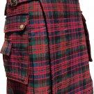 Mens New Scottish Highland Wears Active Modern McDonald Tartan Utility Kilts