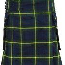 New Kilts Scottish Gordon Tartan Highland Wears Active Men Acrylic Wool