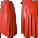 NEW STYLE LADIES GENUINE LAMBSKIN PURE LEATHER GLADIATOR WARRIOR TAILOR KILT