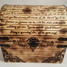 Dr. Suess themed Wooden Chest