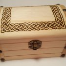 Celtic Wooden Chest