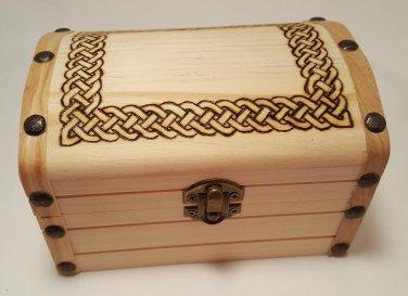 Celtic Wooden Chest