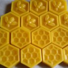 100 % pure yellow Beeswax Melts