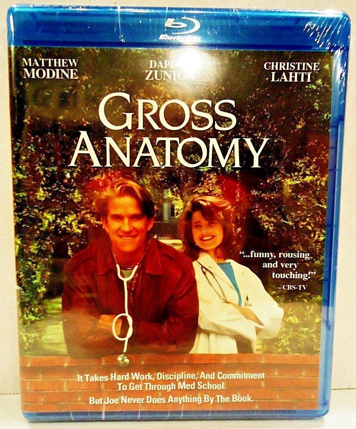 GROSS ANATOMY - DVD - BLU-RAY - MATTHEW MODINE - BRAND NEW - HOUSE - ER - MOVIE