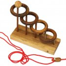 ORBITS - BRAIN TEASER - ROPE - WOOD - PUZZLE - GAME - BRAND NEW - SEALED