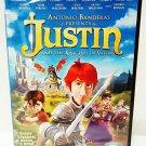 JUSTIN AND THE KNIGHTS OF VALOR - DVD - ANTONIO BANDERAS - NEW - CARTOON - ANIME