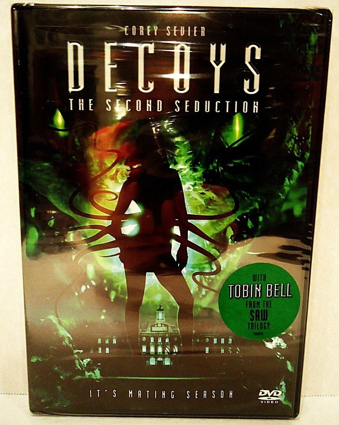 DECOYS - THE SECOND SEDUCTION - DVD - TOBIN BELL - NEW - SEALED - ALIENS - MOVIE