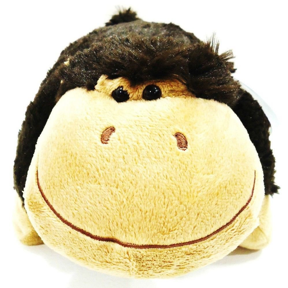 PILLOW PETS - PEE WEES - SILLY MONKEY - STUFFED - PLUSH - ANIMAL - BRAND NEW