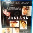 PARKLAND - BLU-RAY - DVD - EFRON - GIAMATTI - NEW - JFK - ASSASSINATION - MOVIE