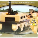 BEST BLOCK - US ARMY - DESERT - HUMVEE - 49 PIECE -  PACK - NEW - LEGO - BLOCKS