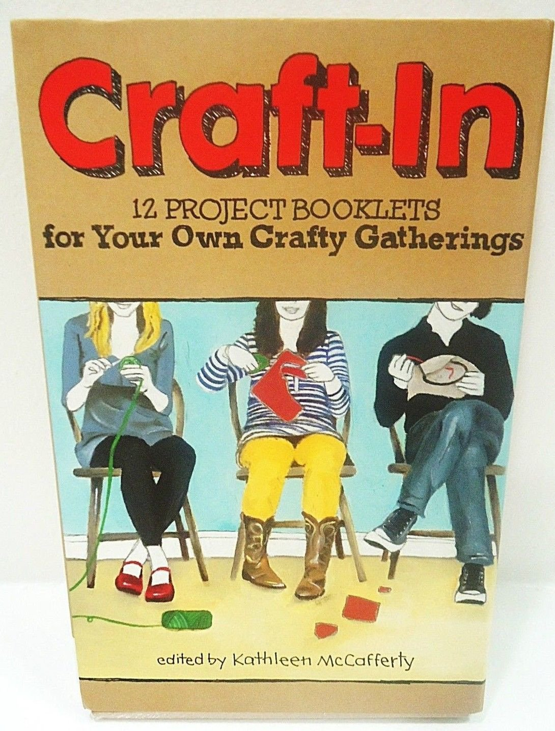 CRAFT-IN - 12 PROJECT BOOKLETS - ARTS - CRAFTS - ORIGAMI - ACTIVITY - KIT - NEW