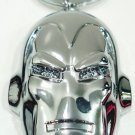 MARVEL - COMICS - RETRO - IRON MAN - CHROME - METAL - KEY CHAIN - NEW - AVENGERS