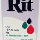 RIT - DYE - PERFECTION - COLOR - KIT - COMBO - PACK - REMOVER - FIXATIVE - NEW