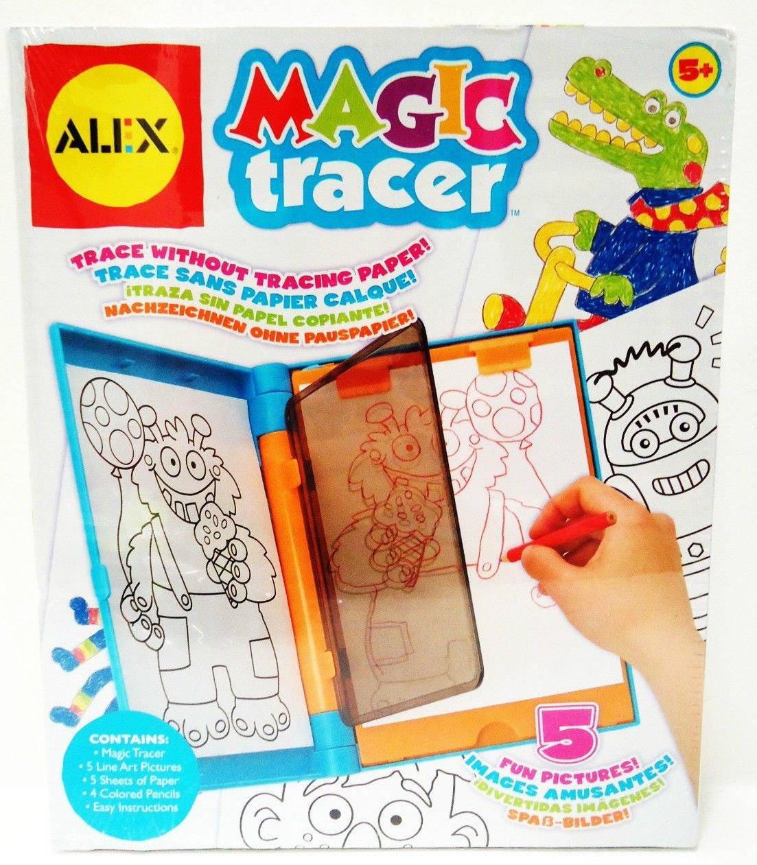 ALEX - TOYS - ARTIST - STUDIO - 32W - MAGIC TRACER - NEW - DRAWING - ART - KIT