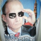 VLADIMIR - PUTIN - RUSSIA - MR. PRESIDENT - SMALL - WHITE - T-SHIRT - NEW - KGB