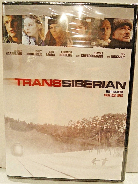 TRANSSIBERIAN - DVD - WOODY HARRELSON - BEN KINGSLEY - NEW - THRILLER - MOVIE