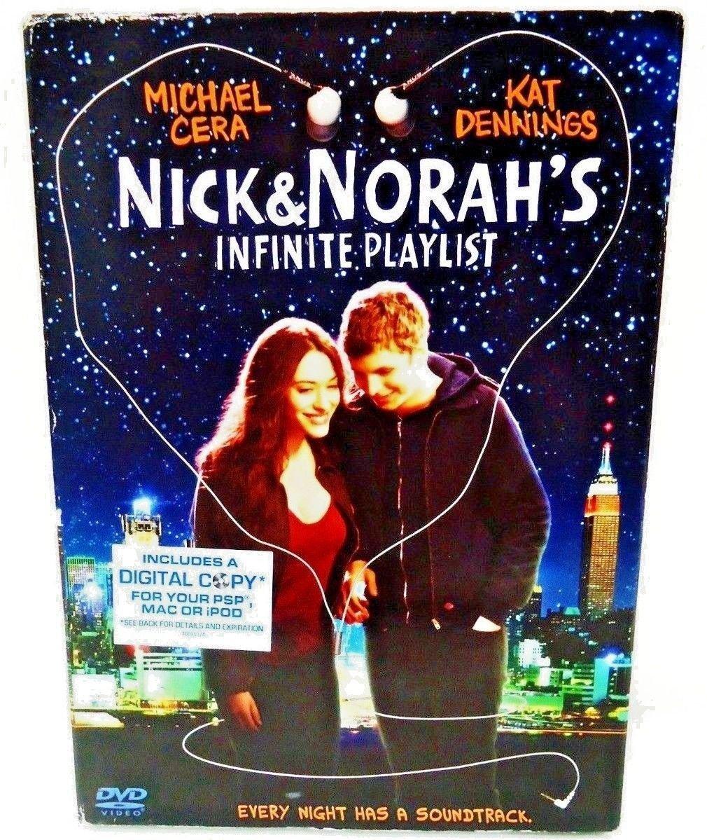 NICK & NORAH'S INFINITE PLAYLIST - DVD - MICHAEL CERA - NEW - COMEDY - MOVIE