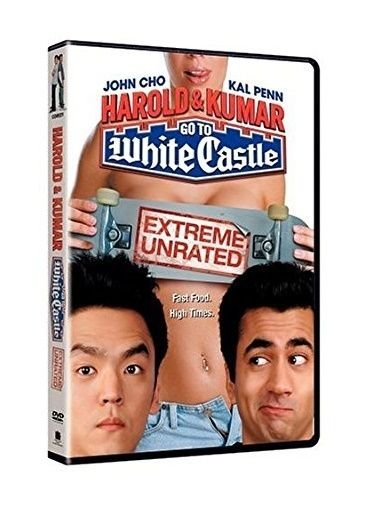 HAROLD & KUMAR - GO TO WHITE CASTLE - DVD - NEW - WEED - COMEDY - SEX - MOVIE