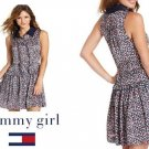TOMMY HILFIGER - MACY'S - FLORAL - TEA - COCKTAIL - DRESS - MEDIUM - BRAND NEW