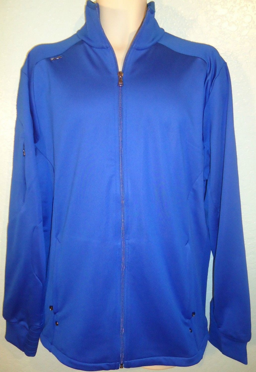 RALPH LAUREN - RLX - XL - BLUE - ZIPPER - GOLF - TRACK - SPORT - JACKET - NEW