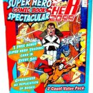 SUPER HERO - COMIC BOOK - SPECTACULAR - PUNISHER - 2 PACK - TRADING CARD - NEW