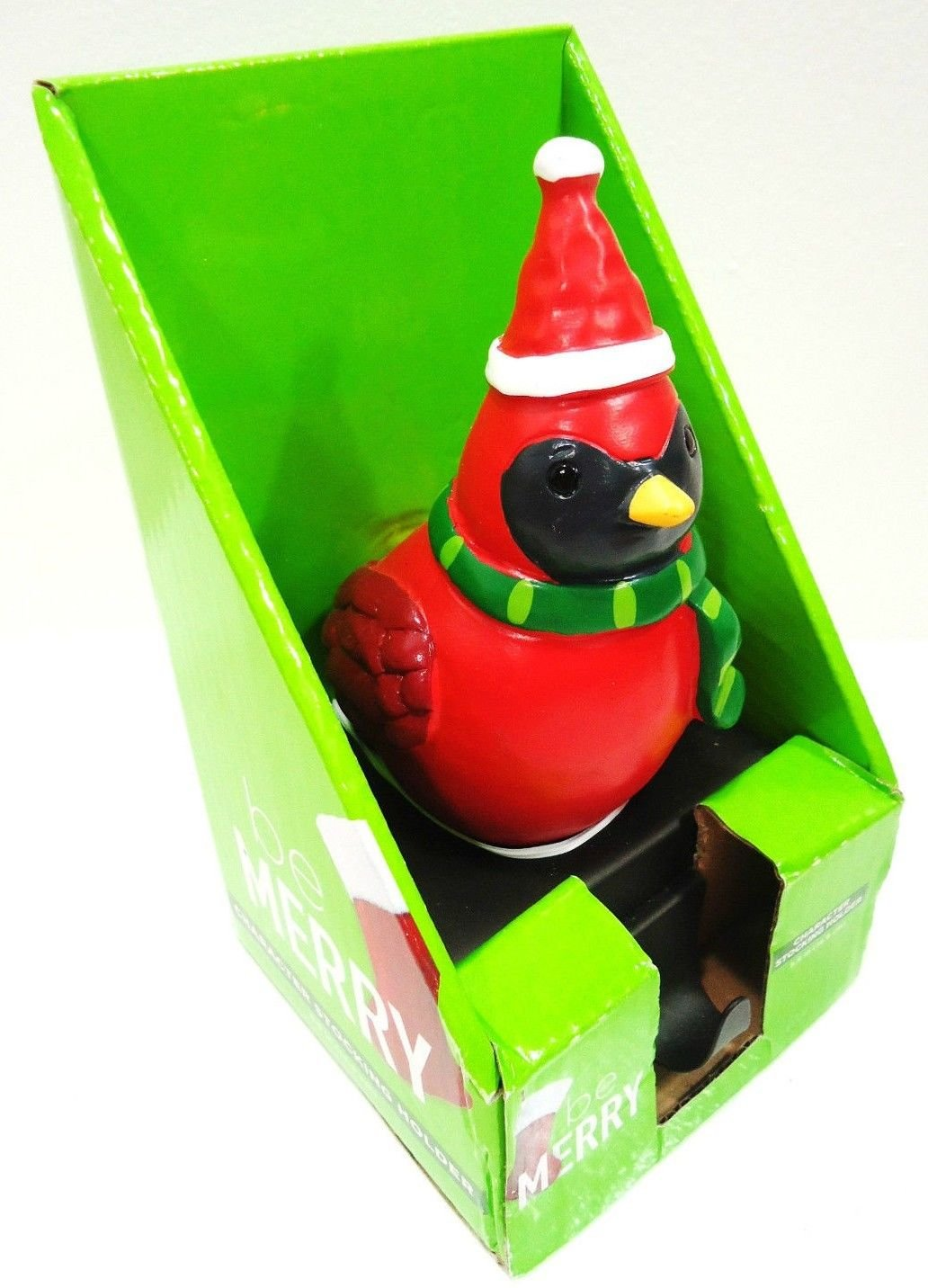 HOME ELEMENTS - CARDINAL - CHRISTMAS - CHARACTER - STOCKING - HOLDER - BRAND NEW