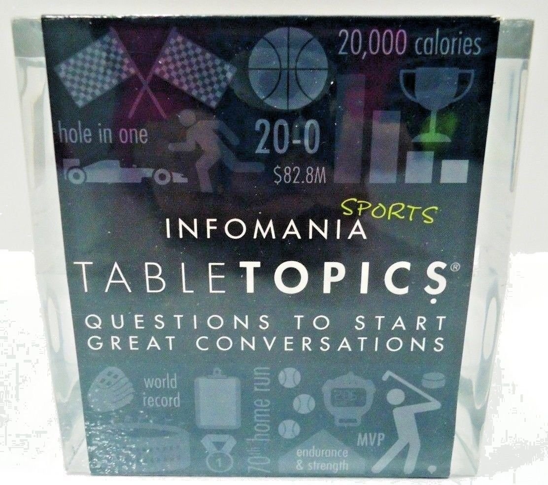 INFOMANIA - TABLE TOPICS - SPORTS - GAME - NEW - EDUCATIONAL - NBA - NFL - NHL