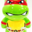 TEENAGE MUTANT NINJA TURTLES - RAPHAEL - CERAMIC - PIGGY - COIN - BANK - NEW